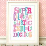 Mary Poppins Nursery Print