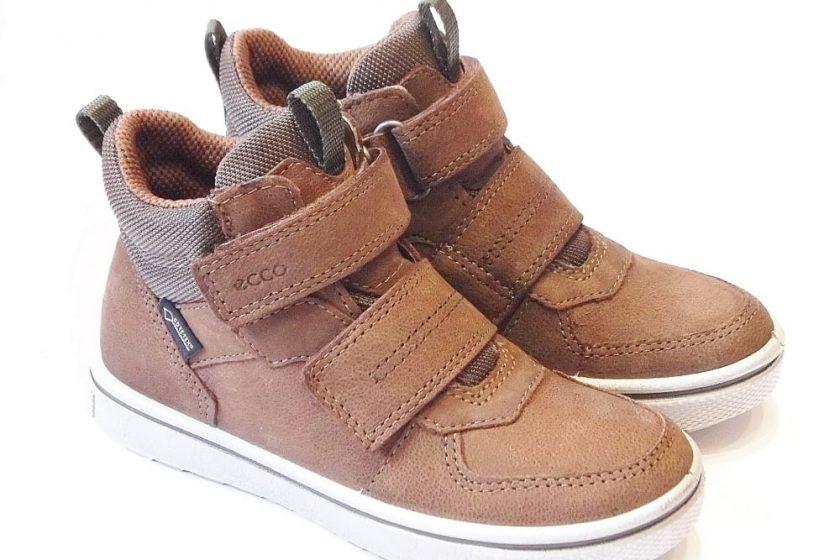 b8930acbedc Ecco Glyder Boys Tan Leather Goretex Ankle Boots   Alternative ...