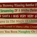 Christmas Wooden Word Blocks