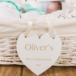 Personalised Baby Plaque – Engraved Baby Gifts