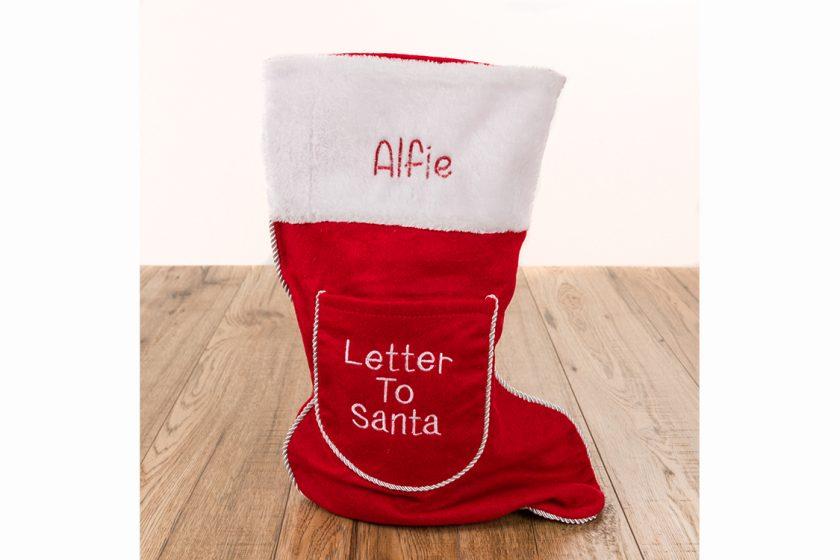 Personalised letter to santa christmas stocking alternative personalised letter to santa christmas stocking spiritdancerdesigns Gallery