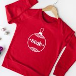 Personalised Christmas Bauble T Shirt/Sweatshirt