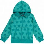 Maxomorra AW17 turquoise stars hoodie