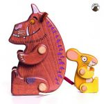 Bajo Gruffalo & Mouse Wooden Characters