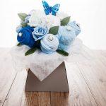 Baby Clothes Bouquet - Blue