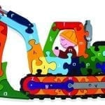 Wooden Digger Jigsaw Puzzle