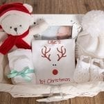 On your First Christmas - Personalised Reindeer Hamper