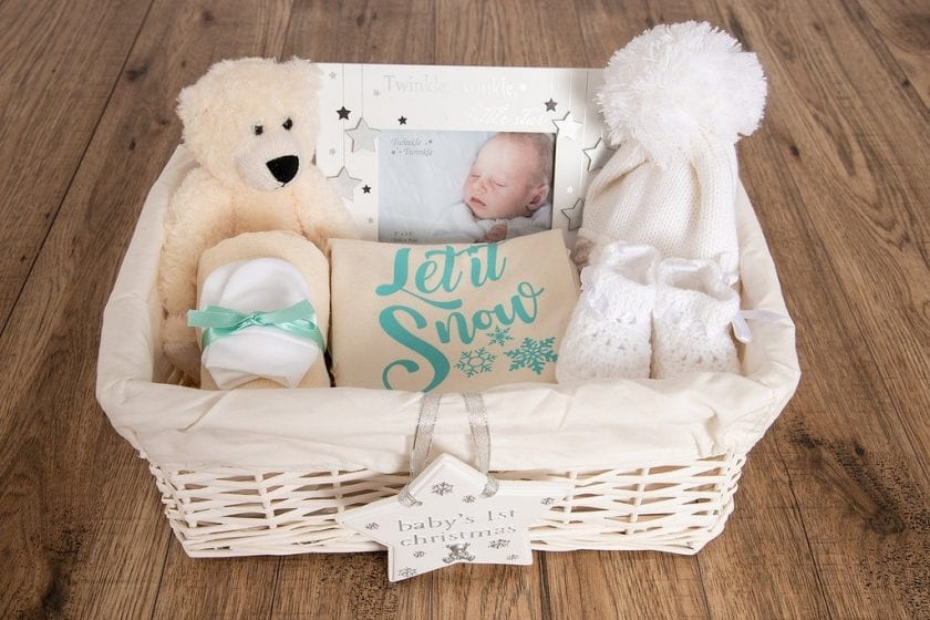 bda273c21a44 My First Christmas  Let It Snow  Baby Hamper