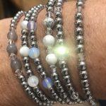 Stunning Hematite Gemstone Bracelets