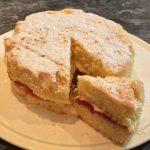 Gluten-free classic sandwich cake