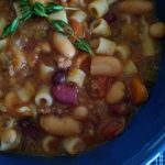 Crockpot Hearty Minestrone Soup