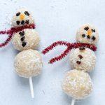 Organic Coconut Snowmen