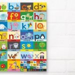 Alphabet Poster Canvas Print from Happy Spaces