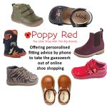 Poppy Red Children's Shoes