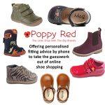 Poppy Red Children's Shoes