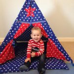 Midi Teepees reduced to just £89 at Just For Tiny People + free gifts!