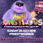 10% off the Monstrous Festival!