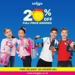 20% off full price products at Smiggle