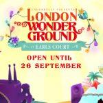 Save 10% on London Wonderground Tickets