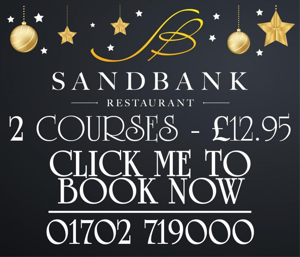 2 Courses for £12.95 at Sandbank
