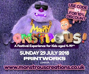 10% off the Monstrous Festival!