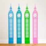 Big Ben Clock Wall Sticker