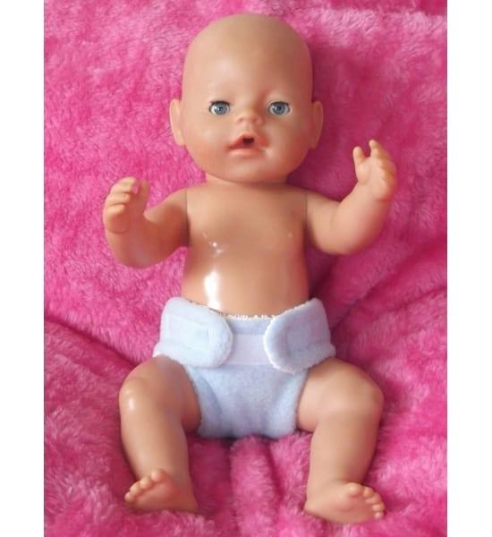 Baby Born Boy / La Newborn Boy Fabric Nappy