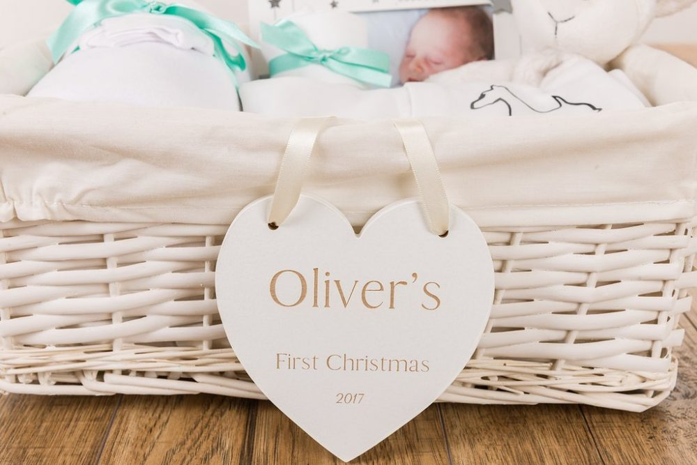 Personalised Baby Plaque - Engraved Baby Gifts