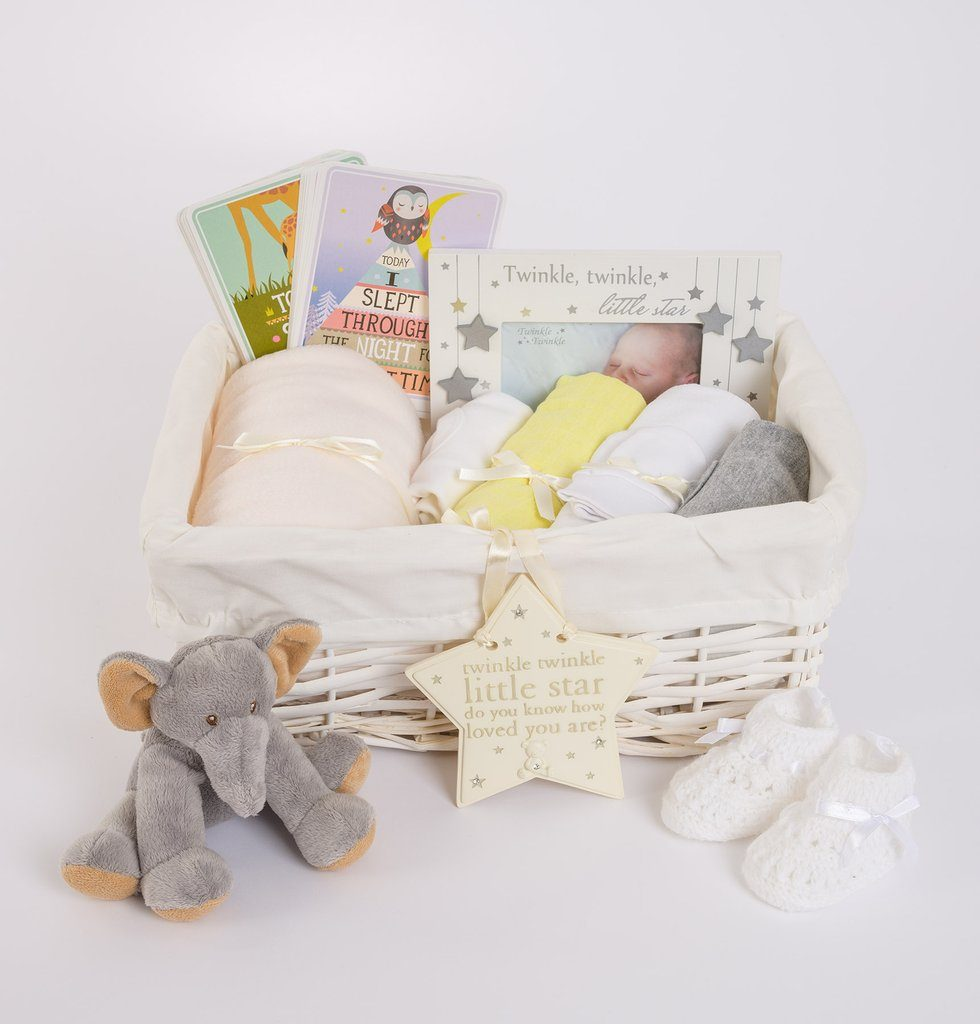 Neutral Baby Gift Basket – Gender Neutral Baby Hamper
