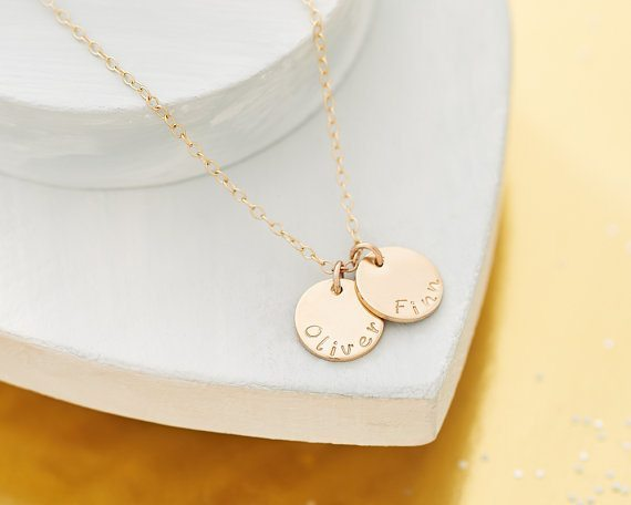 Personalised Gold Necklace