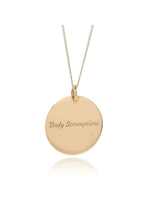 Truly Scrumptious Gold Necklace