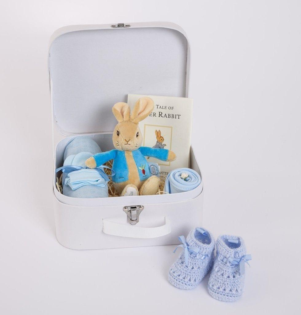 Personalised Peter Rabbit Gift Box – Baby Boy
