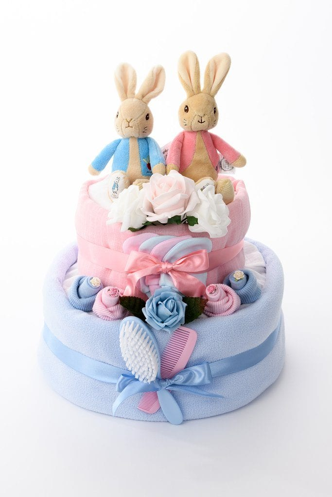 Nappy Cake for Twins