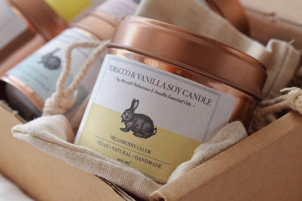 Tobacco & Vanilla Soy Candle