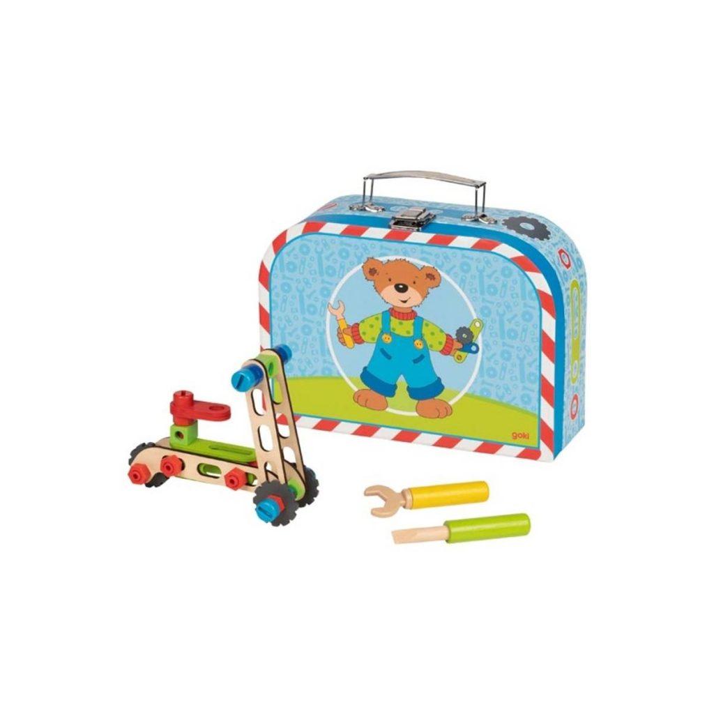 Build a vehicle suitcase