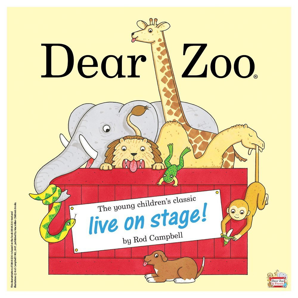 Win a family ticket to see Dear Zoo Live on Stage!