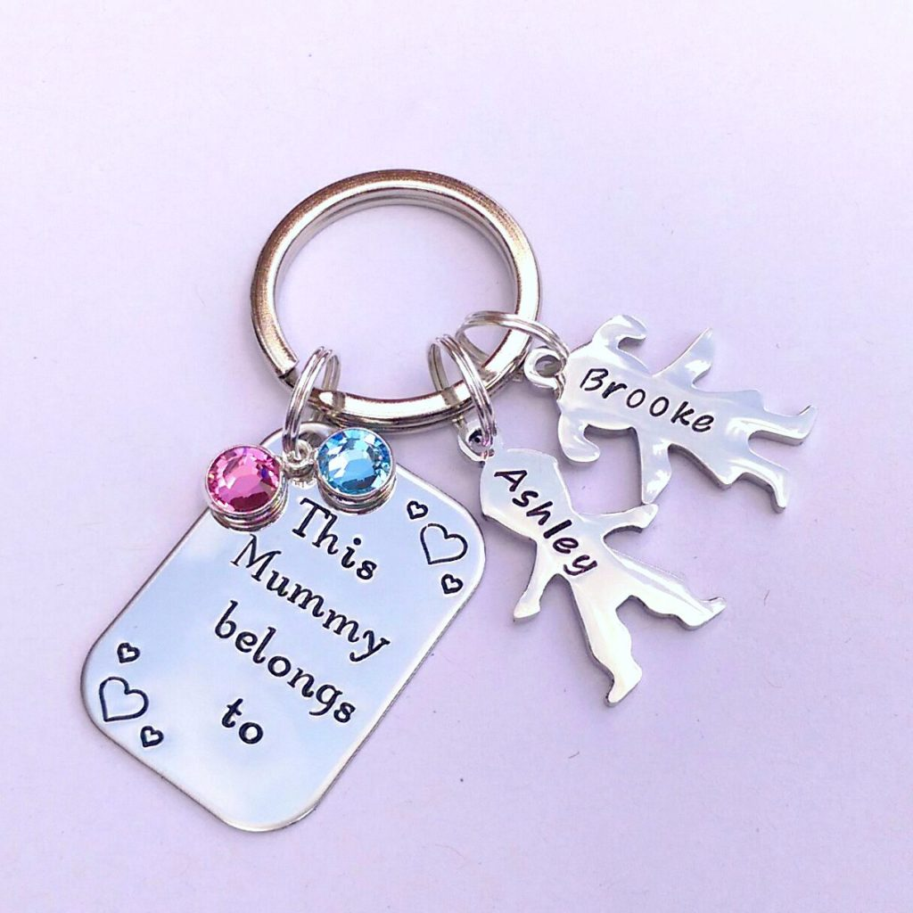 Win a 'This Mummy Belongs to…' keyring from Em's Jewellery