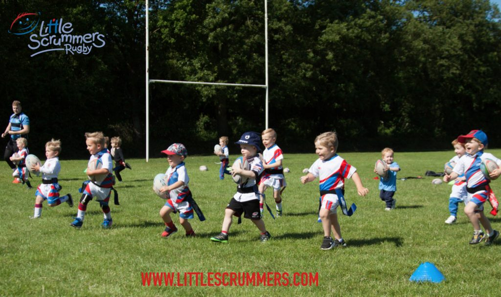 Win 6 free classes at Little Scrummers Rugby