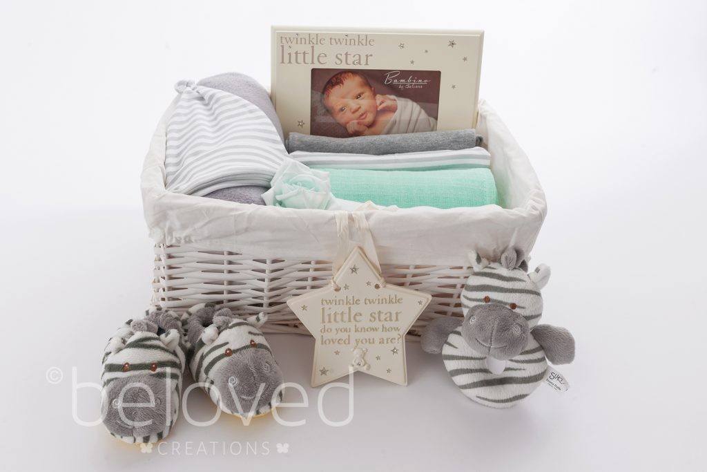 Beloved Creations are offering you the chance to win a beautifulGender Neutral Baby Gift Basket (worth £62.95).
