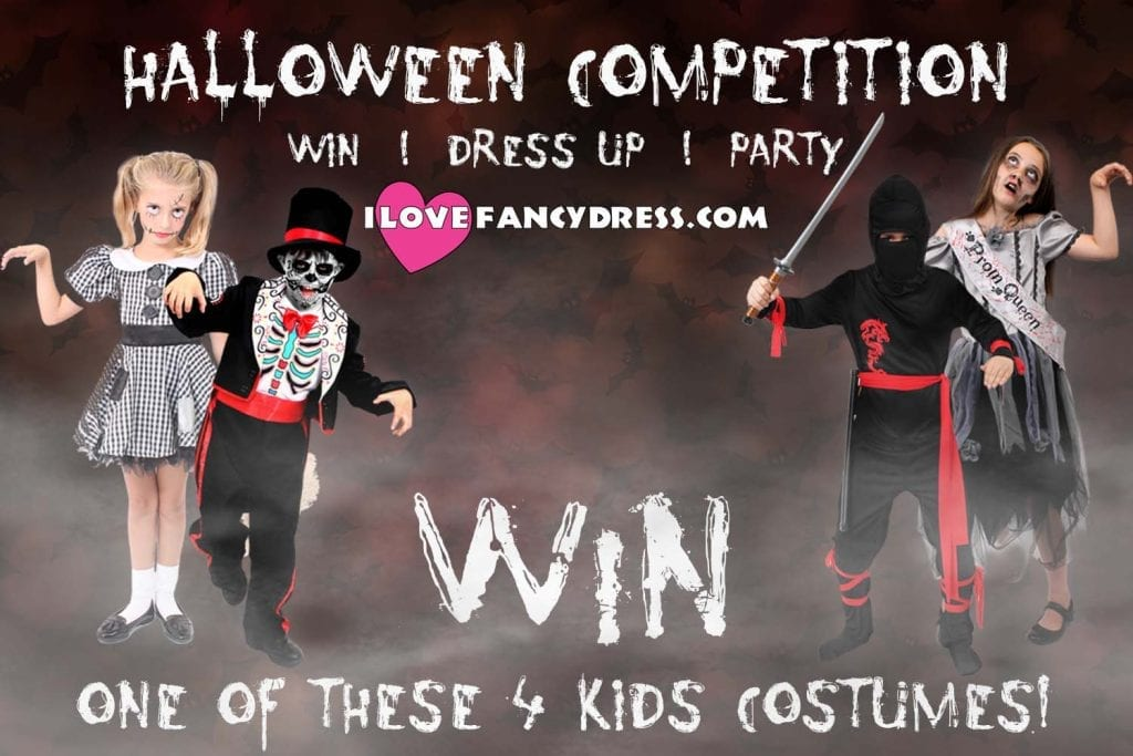 Win a Halloween costume from I Love Fancy Dress – CLOSED