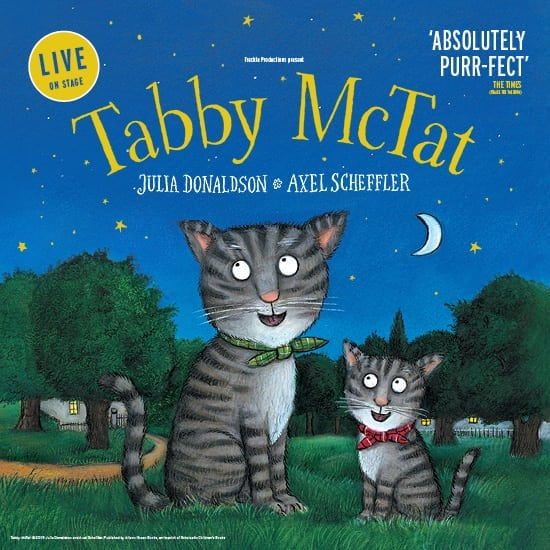Win a pair of tickets to Tabby McTat at the Palace Theatre