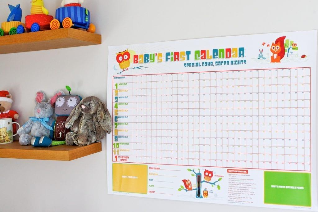 Win a Baby's First Calendar