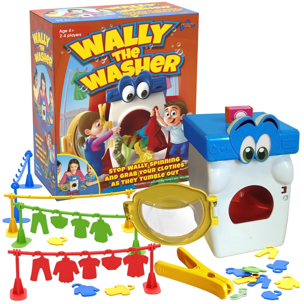 Win a Wally the Washer game from Drumond Park