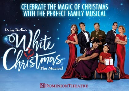Win a Festive London Theatre Trip for your Family to see White Christmas the Musical