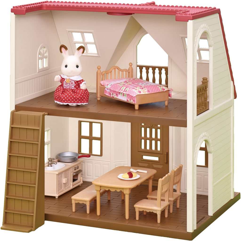 WIN a Sylvanian Families Red Roof Cosy Cottage and Polar Bear Family