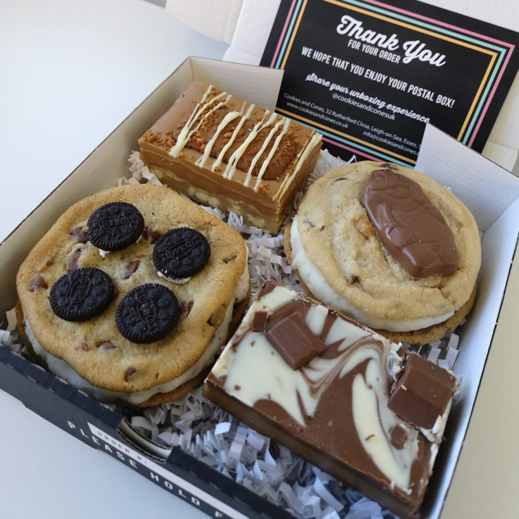 Win a Bakery Box from Cookies and Cones!