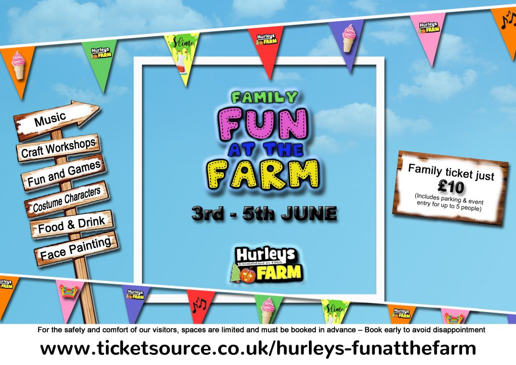 Win a fab family day out at Hurley's Fun at the Farm