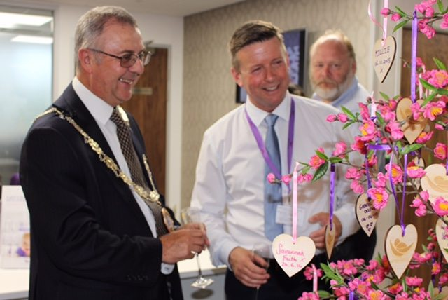 Mayor of Chelmsford officially opens new state-of-the-art IVF clinic