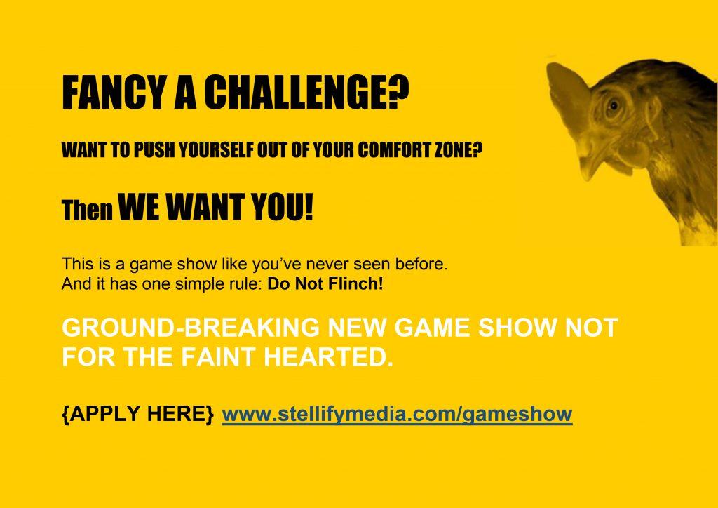Brand New TV Gameshow: Don't Flinch!