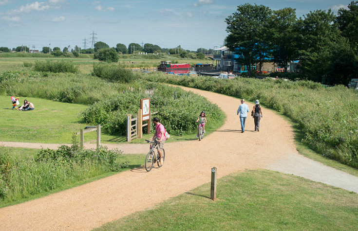 Lee Valley's Top Five Cycle Routes